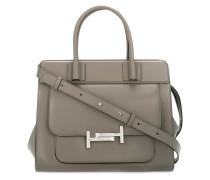 structured satchel bag