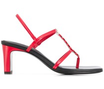 Narcissist strappy sandals