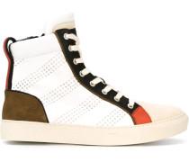 High-Top-Sneakers in Colour-Block-Optik