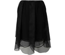 layered tulle petal skirt