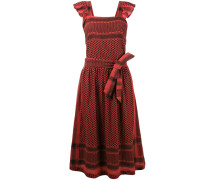 Kleid mit Zickzackmuster