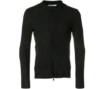 biker style fitted jacket