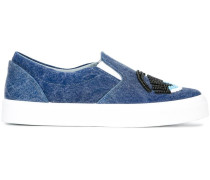 Slip-On-Sneakers mit Prägung - women