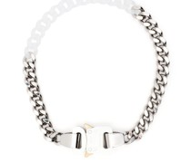 chain-link polished necklace