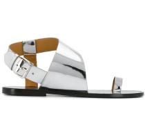 'Joostee' Sandalen im Metallic-Look