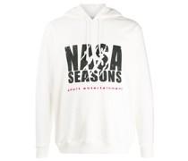 "Kapuzenpullover mit ""NASA Seasons""-Print"
