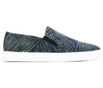 Slip-On-Sneakers mit Streifen
