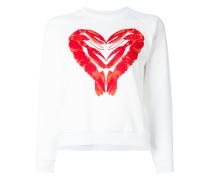 Sweatshirt mit Hummer-Herz-Print - women