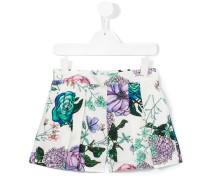 Shorts mit Blumen-Print - kids - Baumwolle - 10