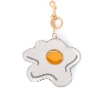Spiegelei-Schlüsselanhänger