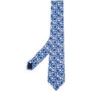 painted Baroque tie