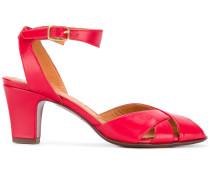 mid heel open toe sandals