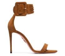 Brown Casablanca 110 Suede Sandals