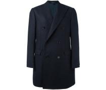 Doppelreihiger Mantel mit Knopfleiste