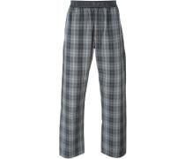 Karierte Pyjamahose