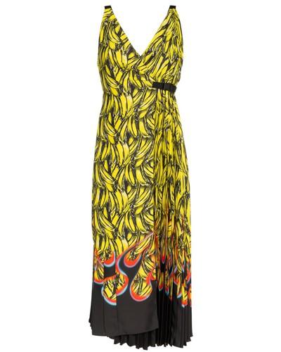 Kleid mit Bananen-Print