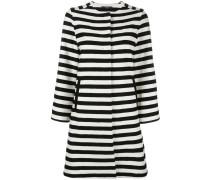 Mantel mit Querstreifen - women - Baumwolle - 38