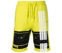Shorts mit grafischem Print