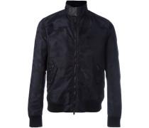 'Rockstud' camouflage bomber jacket