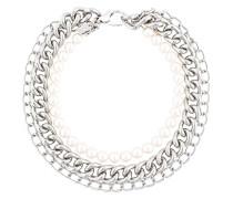 Perlen-und Gliederhalskette