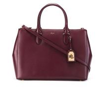 Handtasche mit Reißverschlussfächern