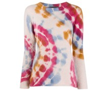 tie-dye slim fit top