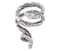 'Asclepios' snake ring