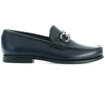 Double Gancini bit loafers
