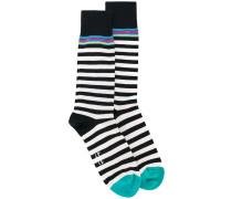 striped socks - men - Baumwolle/Nylon/Elastan