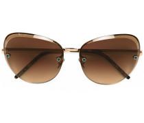 Oversized-Sonnenbrille mit Farbeffekt