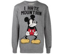 Gestrickter 'Angry Mickey' Pullover
