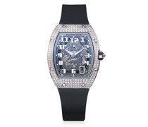 Personalisierte pre-owned Richard Mille 'RM67-01' Weißgold-Armbanduhr