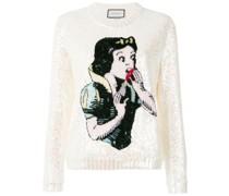 Snow White knit sweater