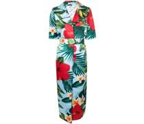 Mantel mit tropischem Print