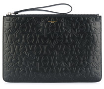 star embossed clutch