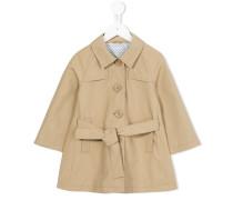 Einreihiger Mantel - kids - Baumwolle/Polyester