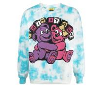 Hypercute Sweatshirt mit Batik-Print