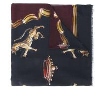 Schal mit Leopard-Print
