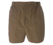 'Dot' short elastic waist shorts