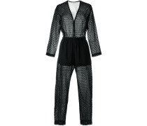 - Perforierter Jumpsuit - women