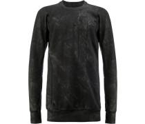 Sweatshirt in Knitteroptik