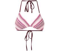 Bikinioberteil mit geometrischem Print