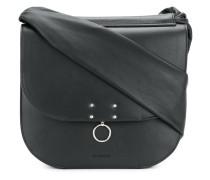 piercing detail shoulder bag