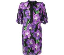 Kleid mit Rhododendren-Print - women