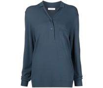Langärmeliges Adit Poloshirt