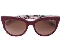 Sonnenbrille mit gewellten Details - women