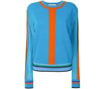 Pullover mit Streifen-Details