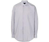 striped long-sleeve shirt