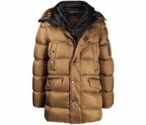 Gefütterter Mantel mit Knöpfen