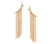 tendril drop pierced earring